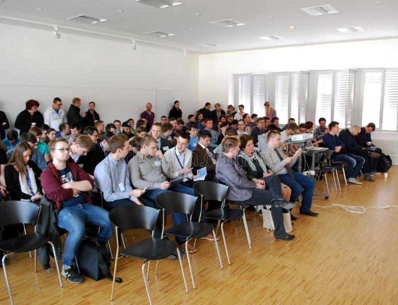 Conferência imagens de stock
