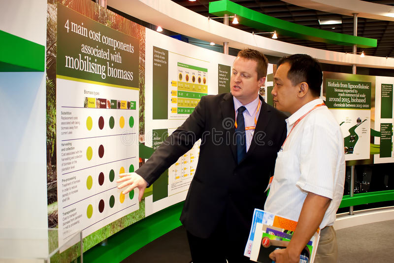 Conferência de BioMalaysia 2011 & exposição foto de stock royalty free
