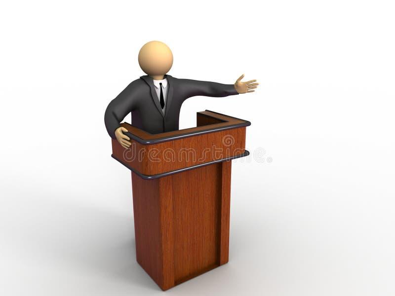 Conferência de negócio ilustração stock