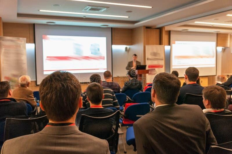 Conferência de negócio fotografia de stock royalty free