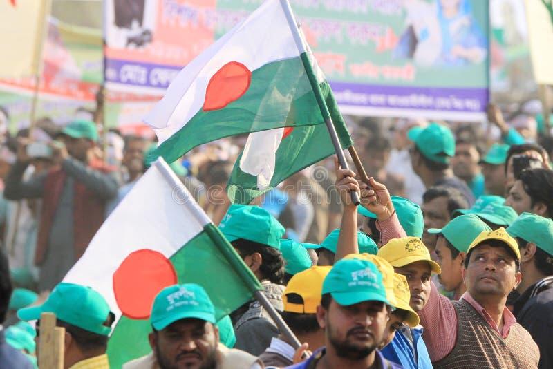 Conferência nacional da liga de Bangladesh Awami fotografia de stock royalty free