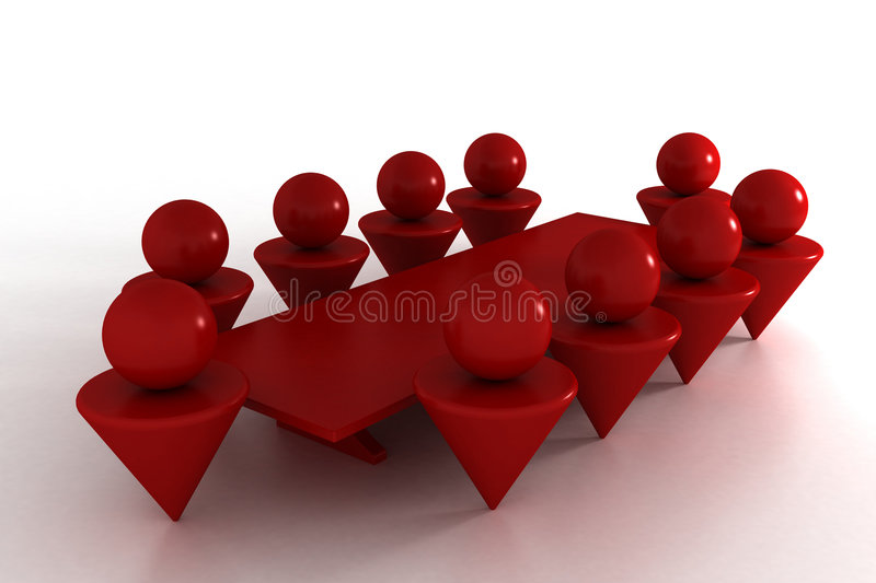 Download Conference 3d Royalty Free Stock Photo - Image: 2724245