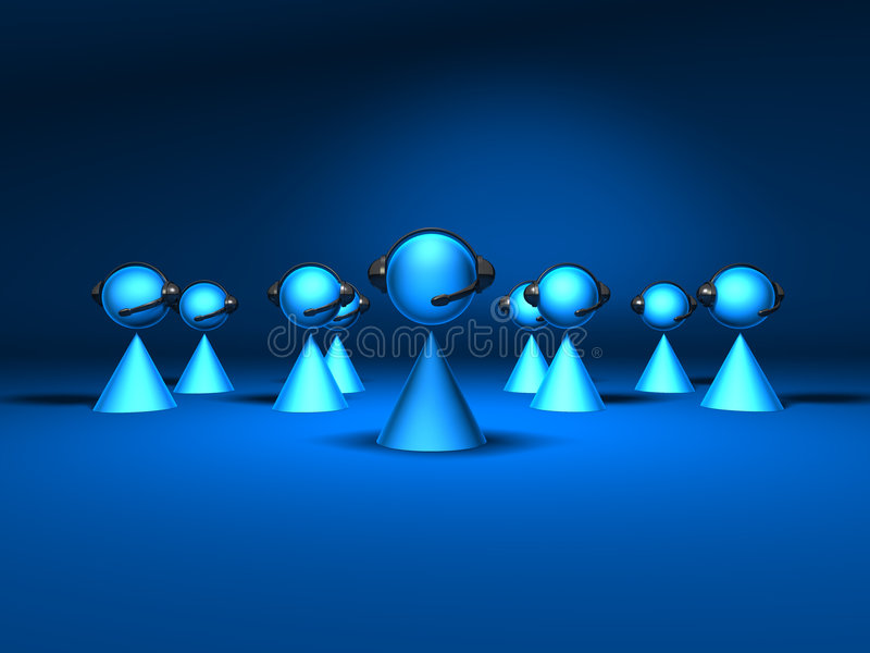 Download Conference call stock illustration. Image of teamwork - 2484192