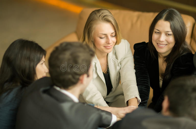 Conference of entrepreneurs. royalty free stock photo