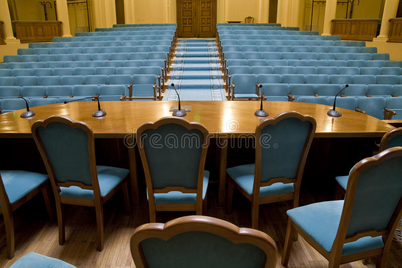 Download Conference hall stock image. Image of rows, projection - 18709217