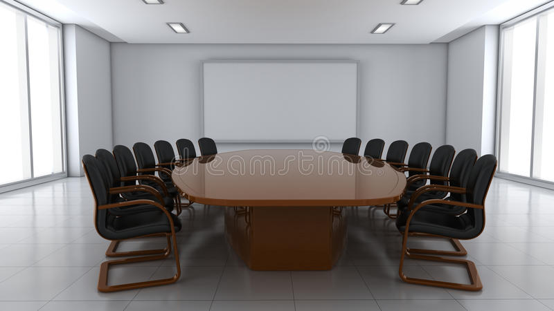 Download Conference hall stock illustration. Image of place, lamp - 22006979