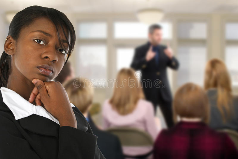 Conference Meeting royalty free stock images