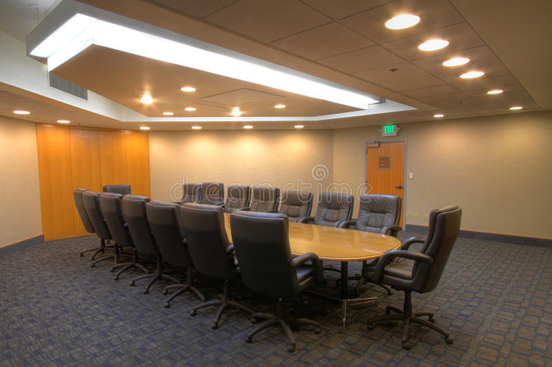 Conference meeting board room royalty free stock photography