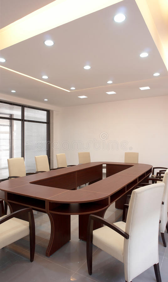 Conference / Meeting Room stock photo