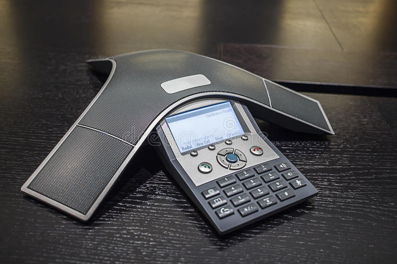 Conference Phone stock photos
