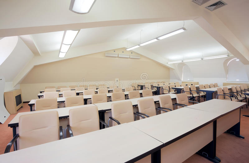 Download Conference room stock photo. Image of architecture, class - 25545726