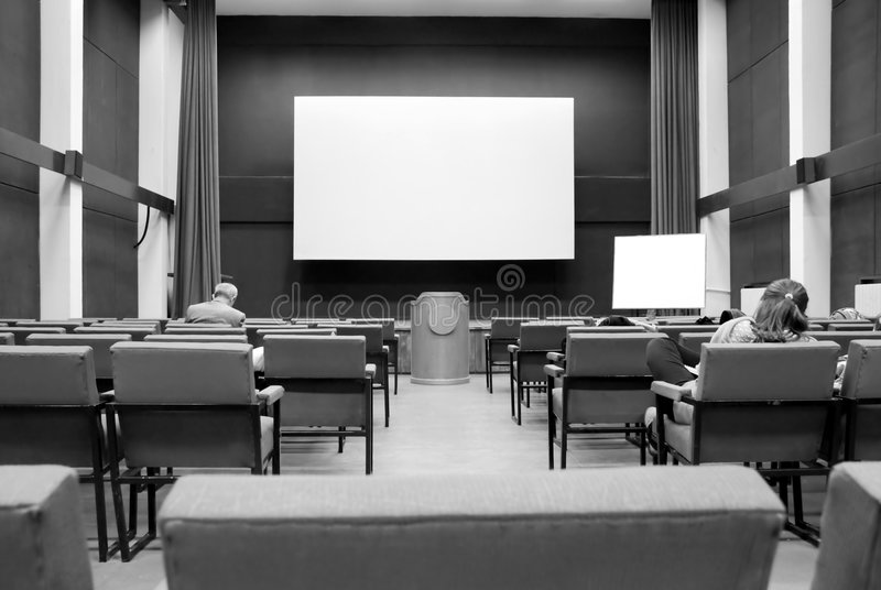 Download Conference room stock photo. Image of display, cinema - 7536094