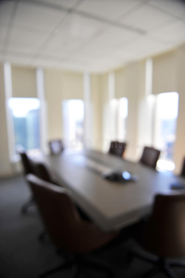 Conference Room Background Blurred Stock Image Image Of
