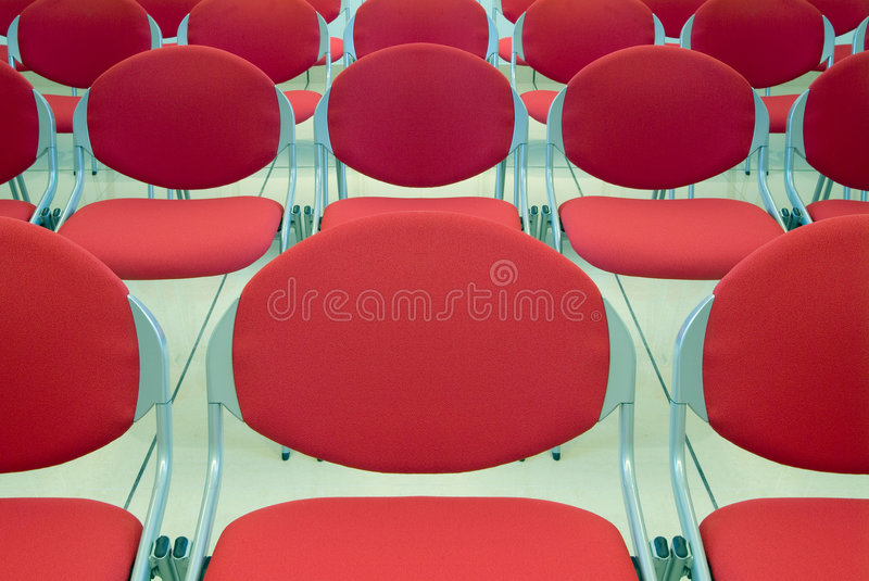 Conference room - detail royalty free stock photos