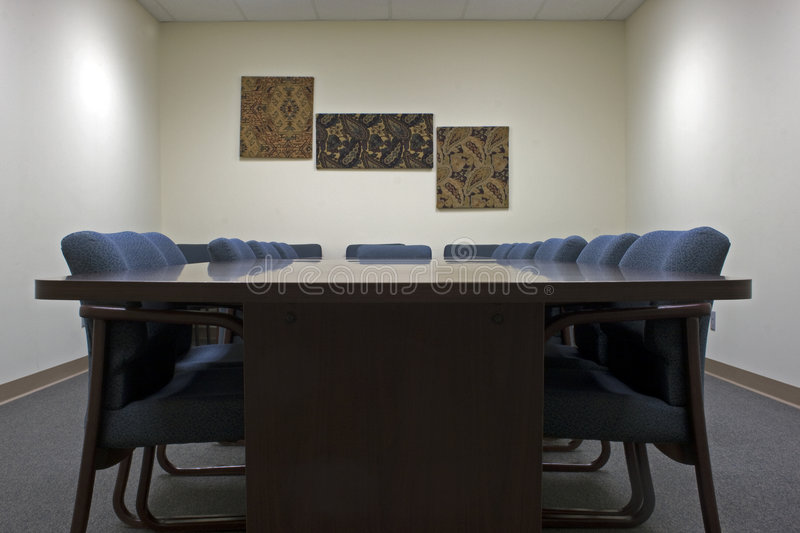 Conference Room Empty royalty free stock images