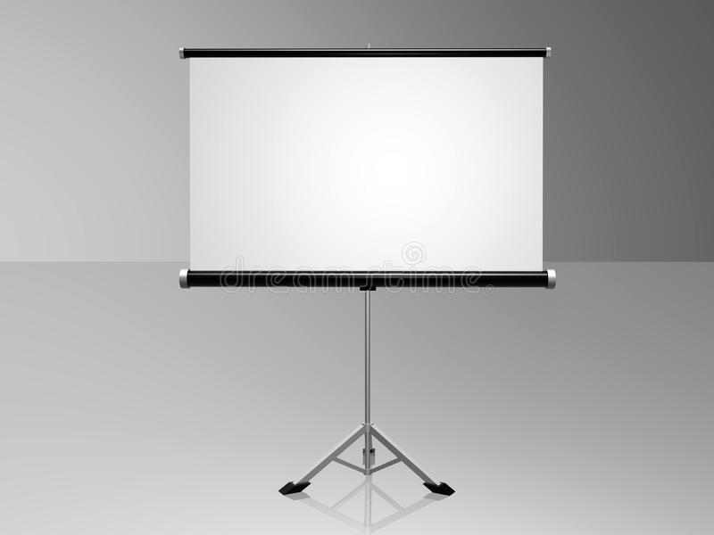 Conference screen stock photography