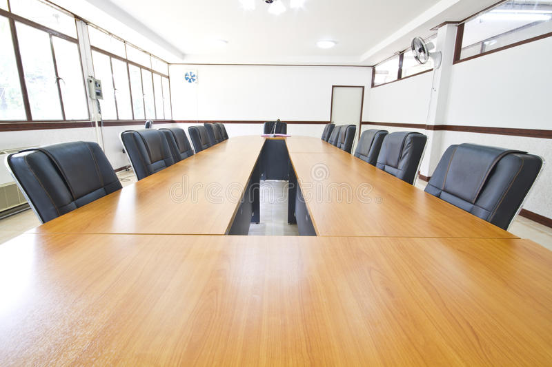 Download Conference table stock image. Image of document, armchair - 28853513