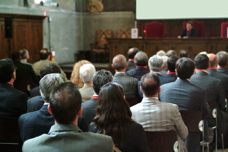 Conferencia de asunto foto de archivo libre de regalías