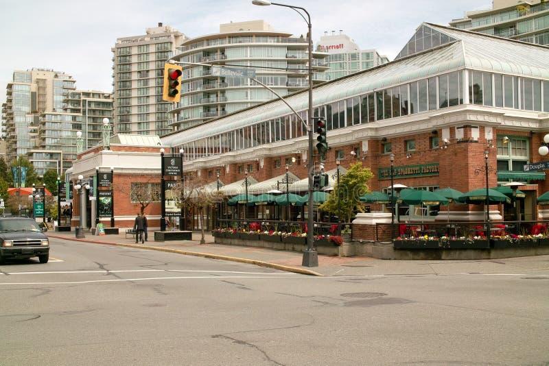 Conferentiecentrum, Victoria Van de binnenstad BC Canada royalty-vrije stock foto