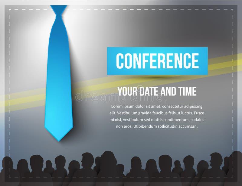 Conferentieillustratie royalty-vrije illustratie