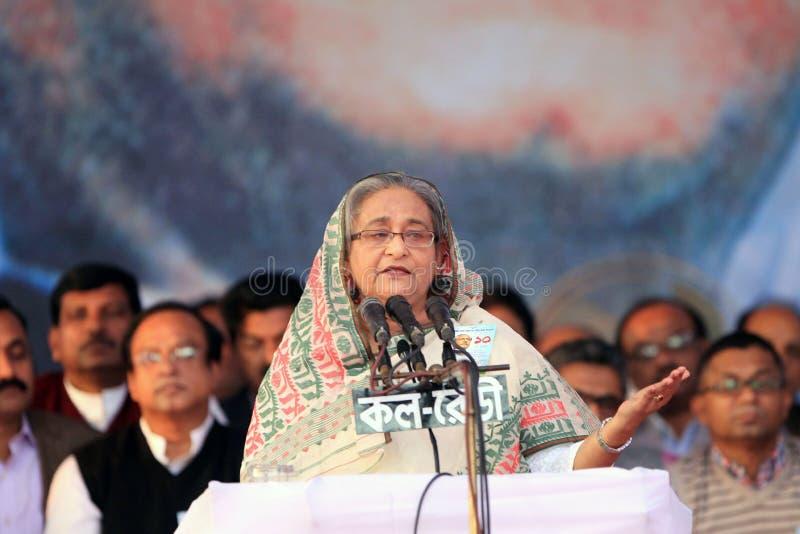 Conferenza nazionale della lega del Bangladesh Awami fotografie stock libere da diritti