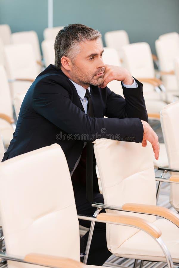 Conferenza troppo noiosa immagini stock libere da diritti