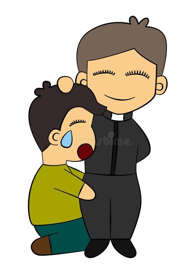 Confesión libre illustration