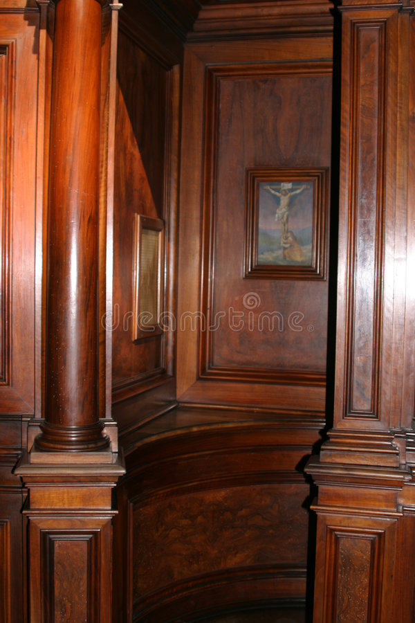 Download Confess stock photo. Image of altar, confess, priest, sunshine - 546964