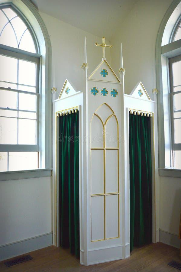 confessionnel image libre de droits