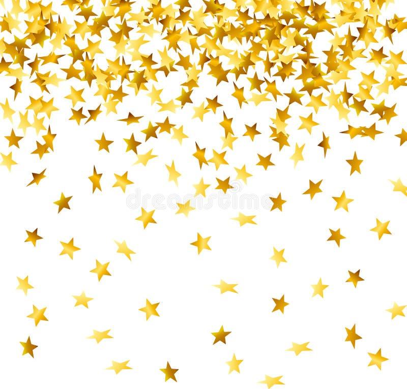 confetti вниз падая бесплатная иллюстрация