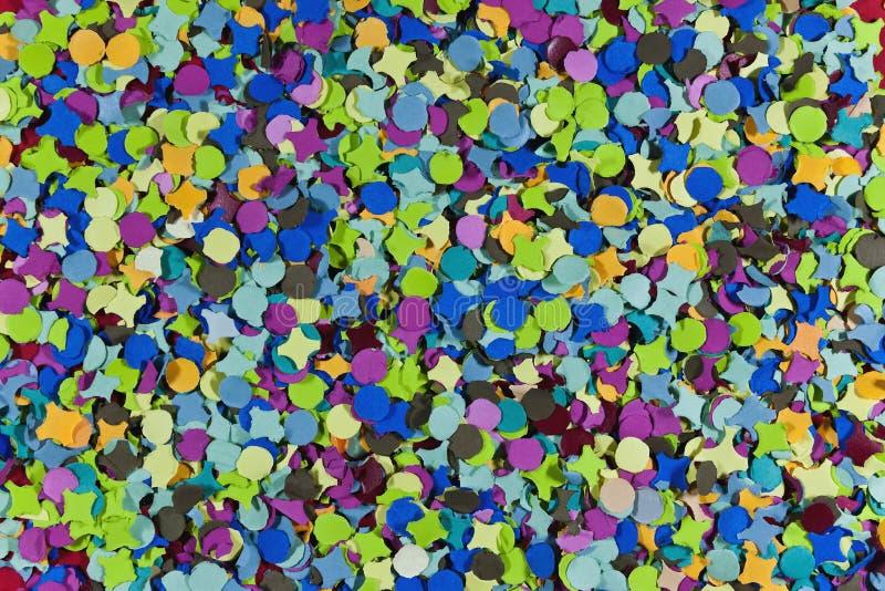 Confetti lizenzfreie abbildung