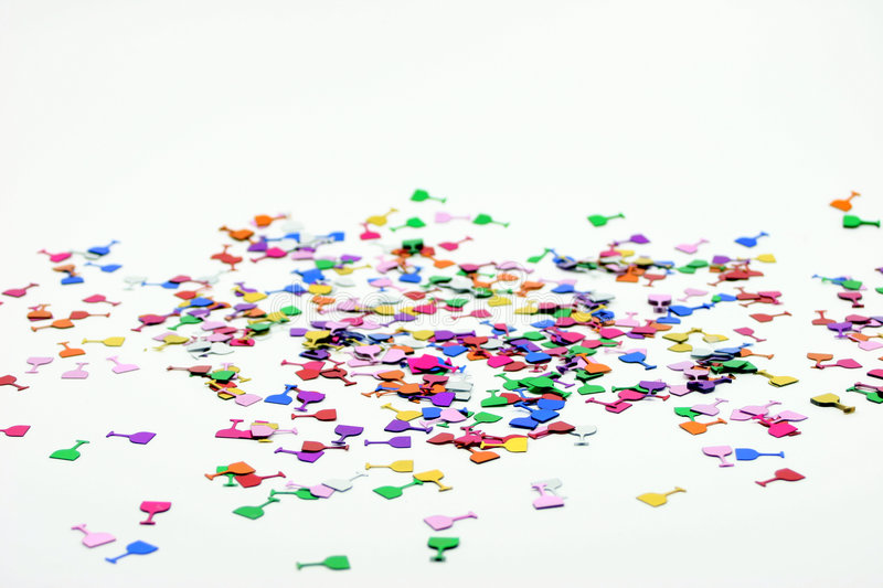 Confetti 2 foto de stock royalty free