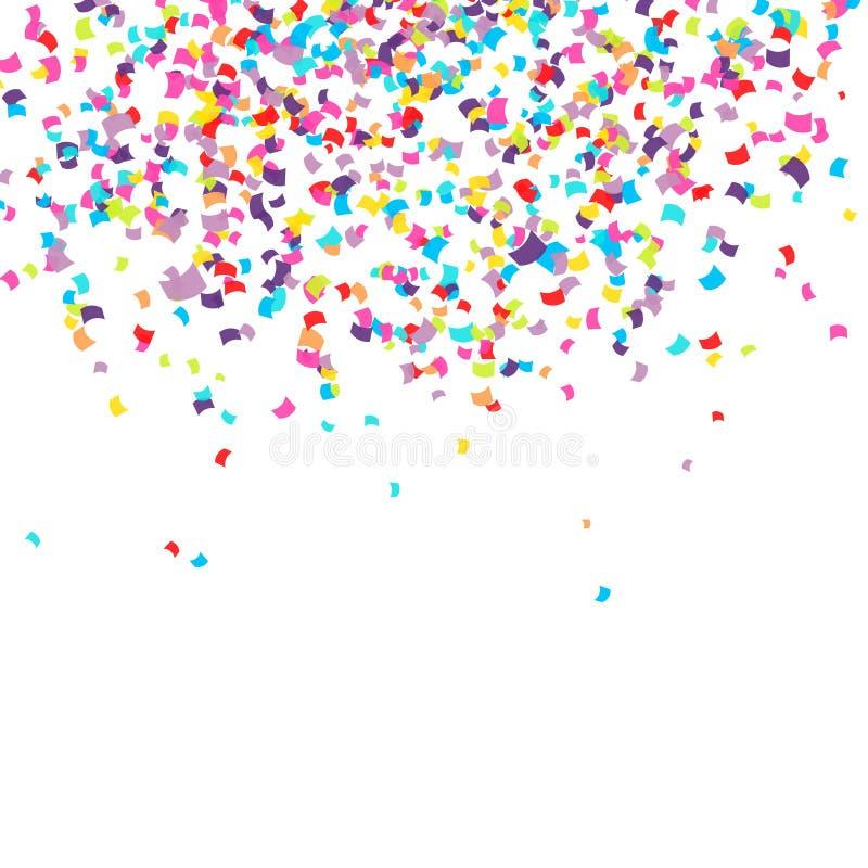 confetti иллюстрация штока