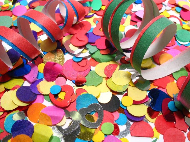 confetti obrazy stock