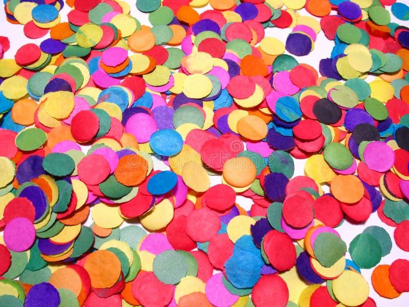 Confetti lizenzfreie stockbilder