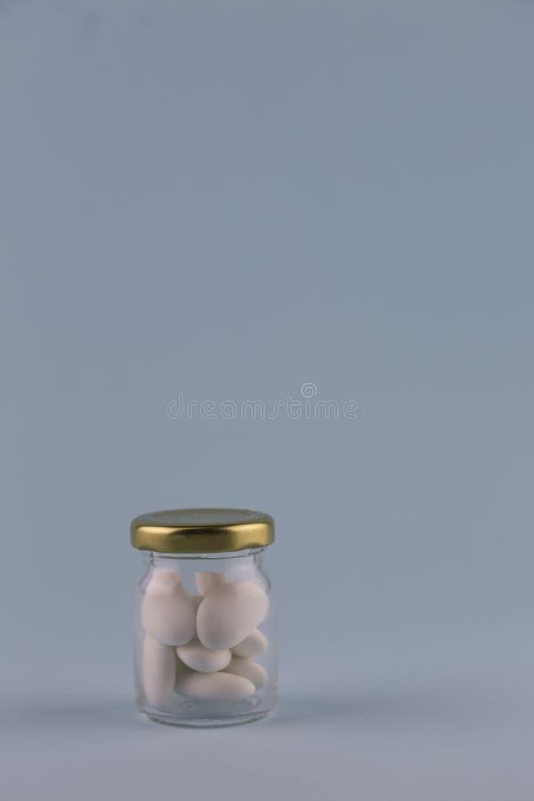 Confetti bianchi fotografie stock libere da diritti