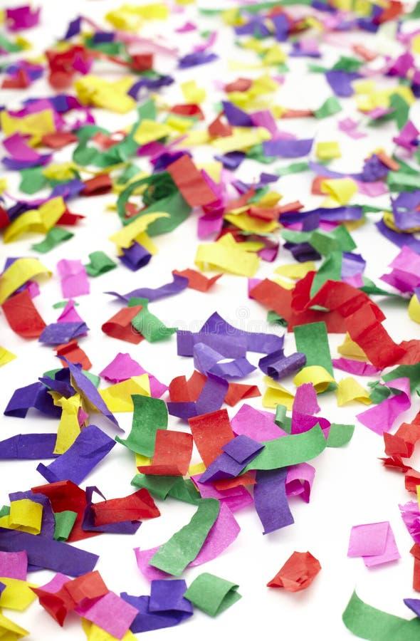 Confetti Celebration New Year Festive Stock Photo