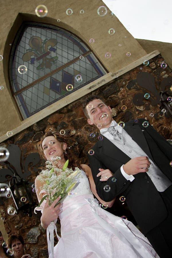 Confetti da bolha foto de stock