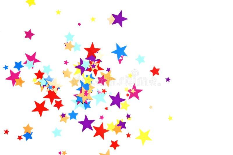 confetti gwiazdy zdjęcie royalty free