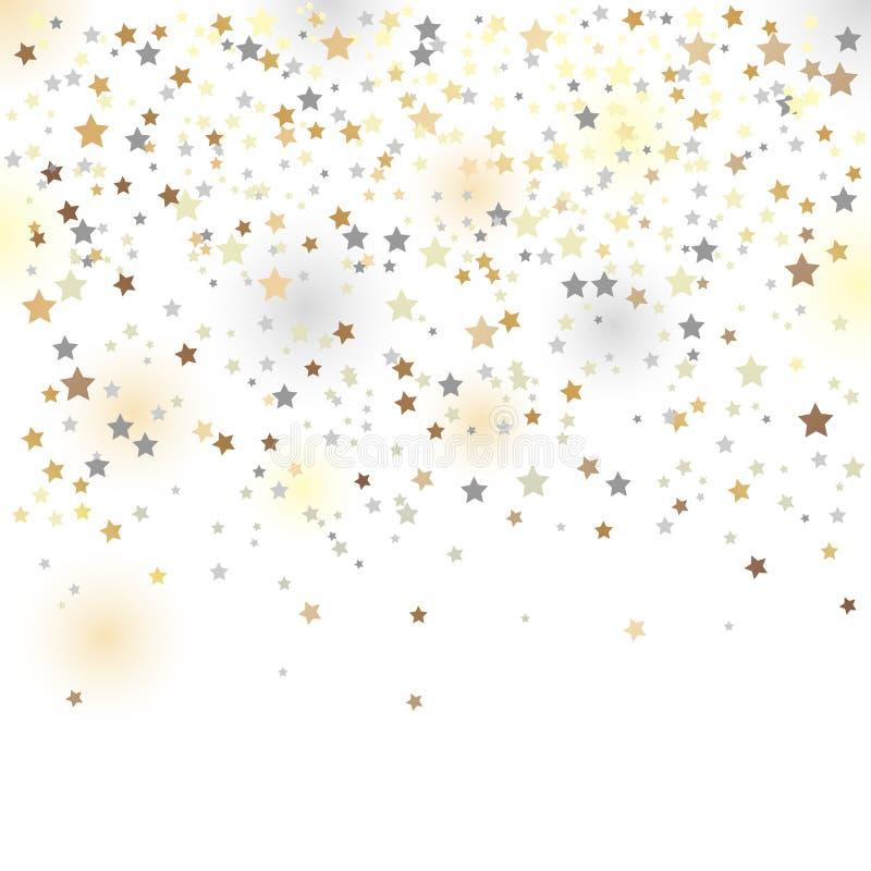 Confetti, ilustração do vetor imagens de stock royalty free