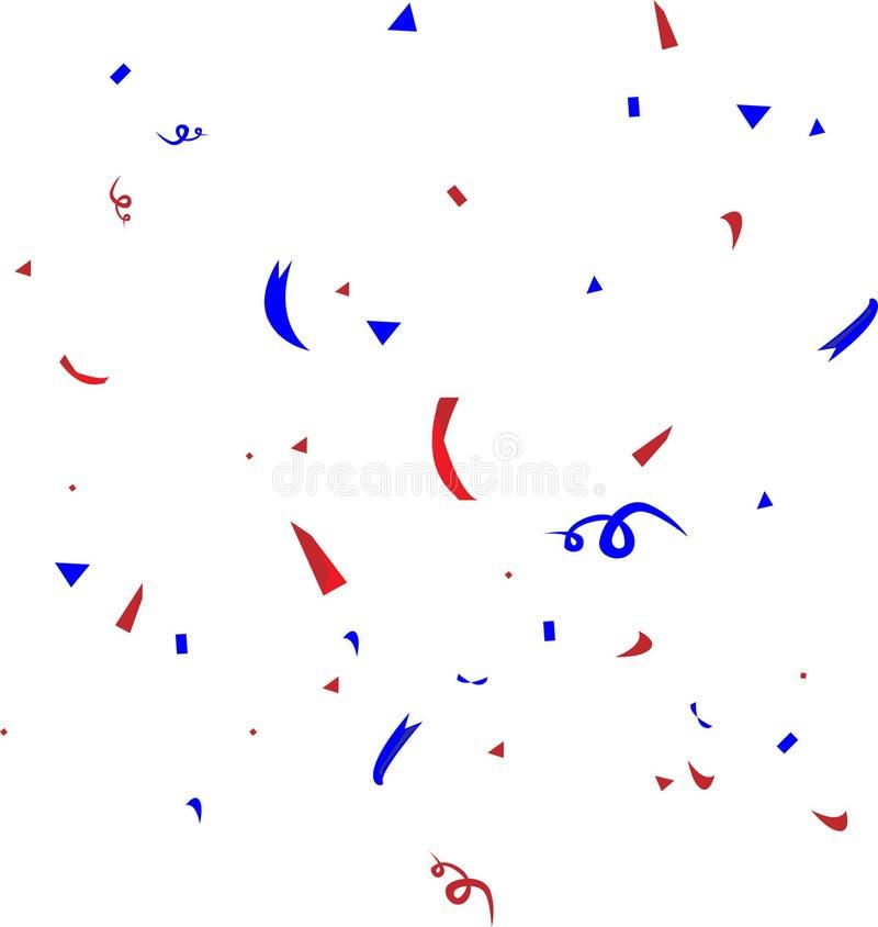 Confetti ilustracja ilustracji