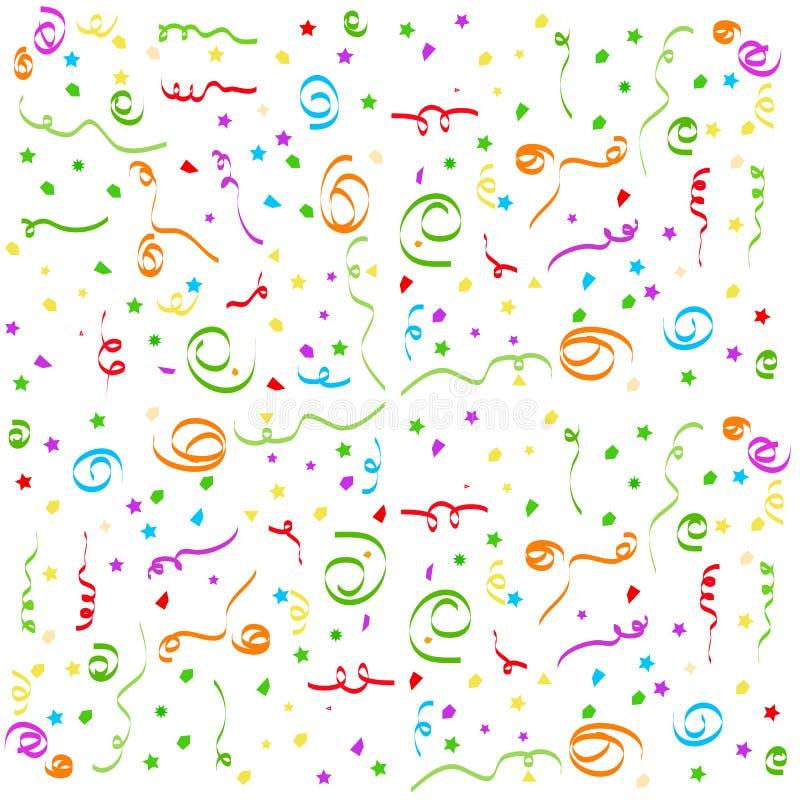 Confetti Page Stock Photo