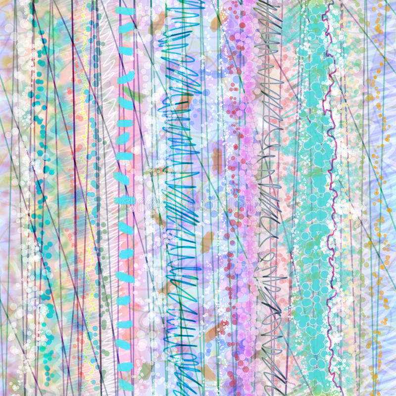 confetti pastel royalty ilustracja