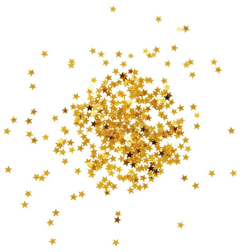 Confetti stars royalty free stock image