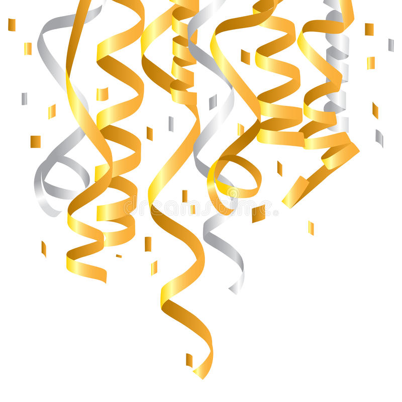 Confetti stock illustration