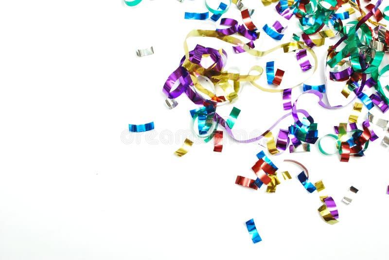 Confettien stock foto's