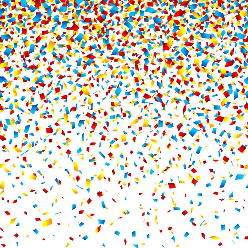 Confettien stock illustratie