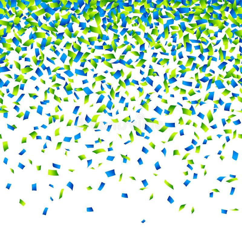 Confettienachtergrond stock illustratie