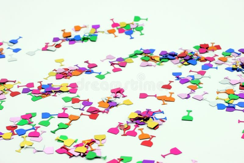 Confettis 3 photo stock