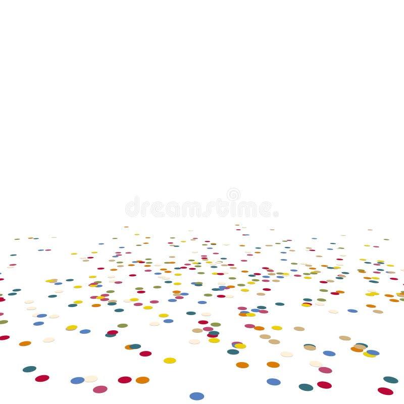 confettis menteur illustration libre de droits